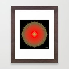 Fleuron Composition No. 141 Framed Art Print