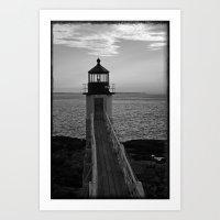 Lighthouse - 3 Art Print