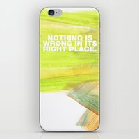 SUNDAYS ARE FOR SOULMATES / Nothing is wrong iPhone & iPod Skin