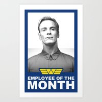 Prometheus - David 8 - Employee of the month Art Print