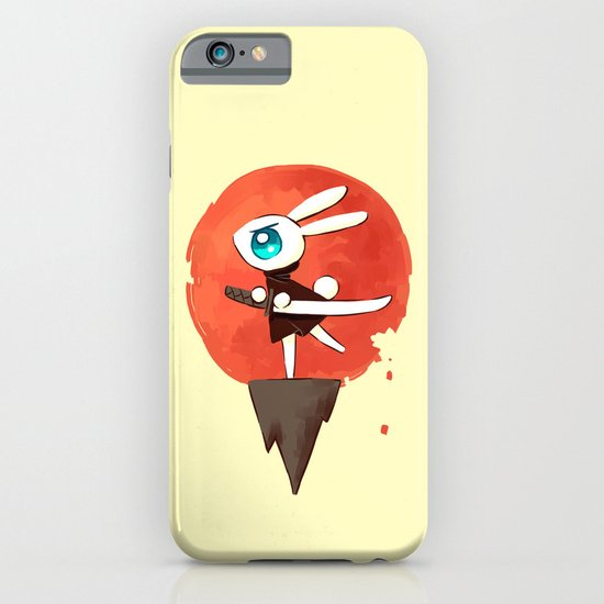 Samurai Bunny iPhone & iPod Case