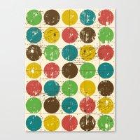 Circles 2  Canvas Print
