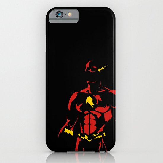 Red and Yellow: Flash the Fast Fellow iPhone & iPod Case