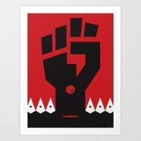 RACISM Art Print