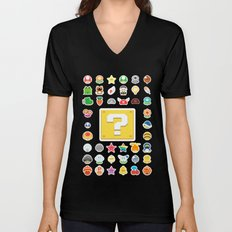 Power Ups! Unisex V-Neck