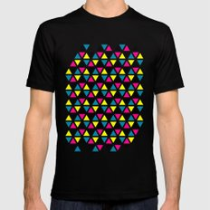 CMYK II Mens Fitted Tee Black SMALL