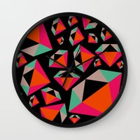 Diamonds Are A Girl's Be… Wall Clock