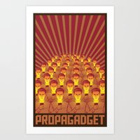 PROPAGADGET 2 Art Print