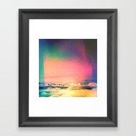 Soft Clouds Framed Art Print