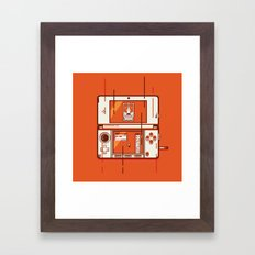 Nintendo 3DS Framed Art Print