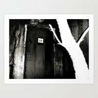 The Uninvited Art Print