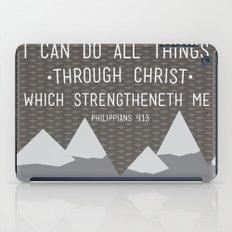 I CAN // Philippians 4:13 iPad Case