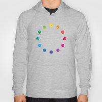 Simple Color Wheel Hoody