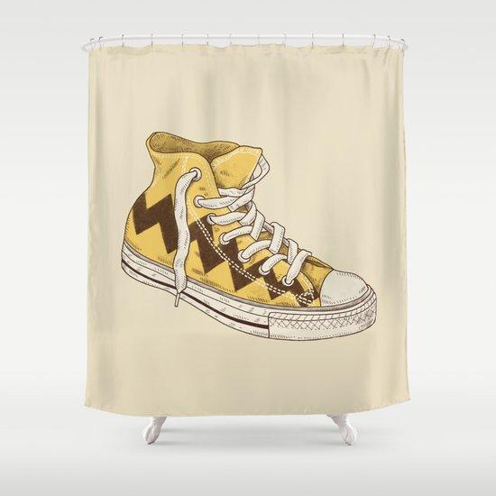 Chuck Shower Curtain