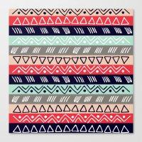 Pattern TRE Canvas Print