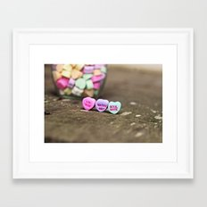 Marry Me? Framed Art Print