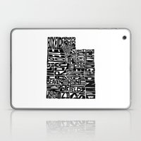 Typographic Utah Laptop & iPad Skin