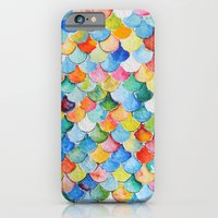 iPhone & iPod Case featuring Fish Scales  by Goldfish Kiss