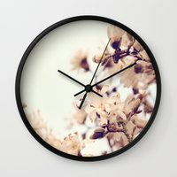 Magnolia Wall Clock