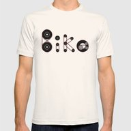 Bike Gear Mens Fitted Tee Natural SMALL