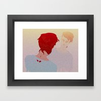 ANTIMATTER Framed Art Print