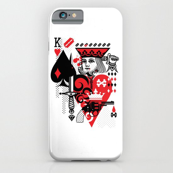 Suicide King iPhone & iPod Case