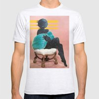 Harem Aria Mens Fitted Tee Ash Grey SMALL