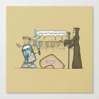 King Artoo Canvas Print