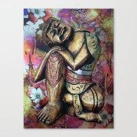 harmony and silence Canvas Print