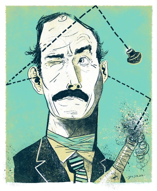 John Cleese Art Print