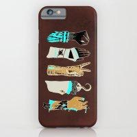 iPhone & iPod Case featuring Epic Rock Paper Scissors Battle by WEAREYAWN