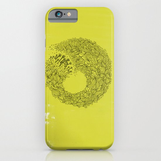Home Yellow iPhone & iPod Case