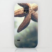 Galaxy S5 Cases featuring Starfish by Katie Koop