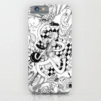 I've seen things (Black & White) iPhone 6 Slim Case