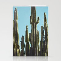At the Cactus Garden Stationery Cards
