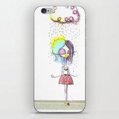 Rain on me... iPhone & iPod Skin