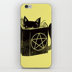 Witchcraft Cat iPhone & iPod Skin