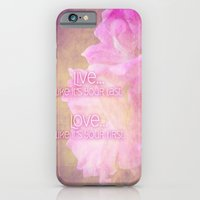 Live And Love iPhone 6 Slim Case