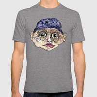 Old Man 3 Mens Fitted Tee Tri-Grey SMALL