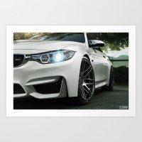 BMW M4 Art Print