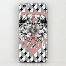 Flower Symmetry - Lilies iPhone & iPod Skin