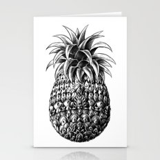 Ornate Pineapple Stationery Cards
