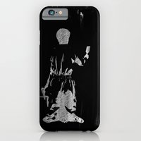 iPhone Cases featuring The painter by Keagraphics