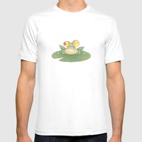 Swamp Snack Mens Fitted Tee White SMALL