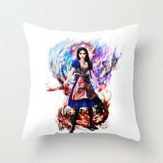 Alice madness returns Throw Pillow