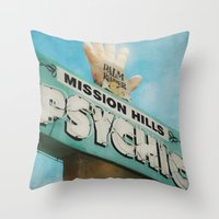 Gypsies, Tramps and Thieves Throw Pillow