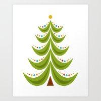 Holiday 2015: Tree Art Print