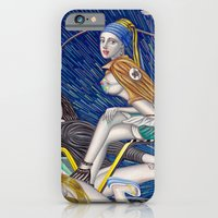 iPhone & iPod Case featuring 少女時代 - Girls Generation / Gouache Original A4 Illustration / Painting by Zhou