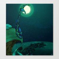 Boulder Holder Canvas Print