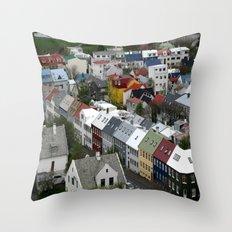 Reykjavik, Sweet. Throw Pillow